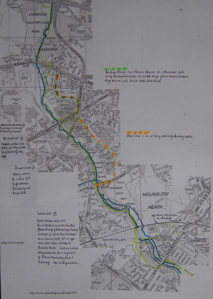 River Crane Cycle Route